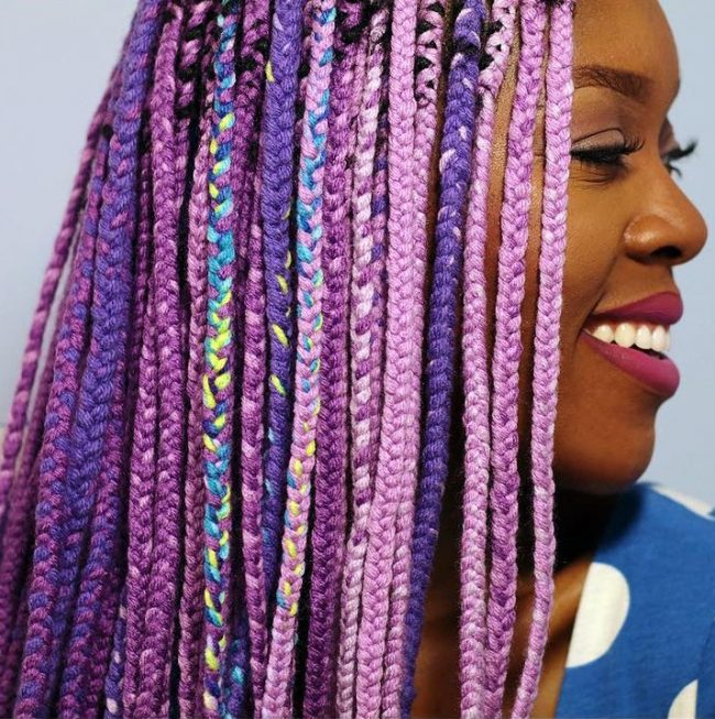 Crochet Yarn Braids : 80 Trendy African Braids Hairstyles - Embrace the Braiding Art