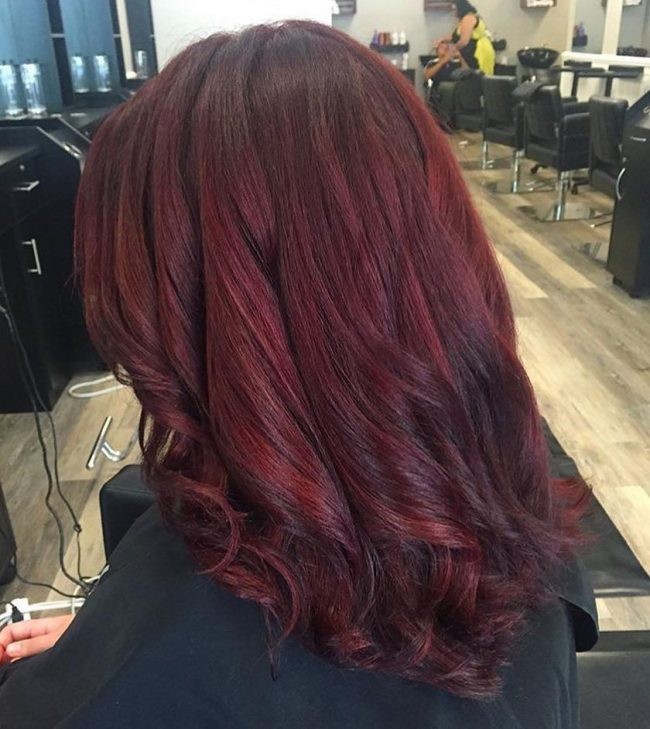 Red Violet Locks