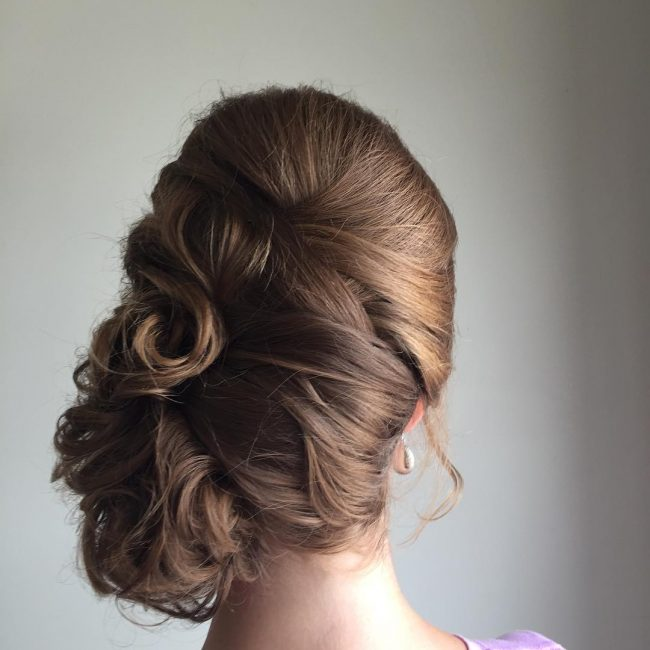 Sexy Side Updo