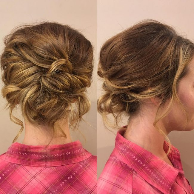 Sexy and Loose Short Updo