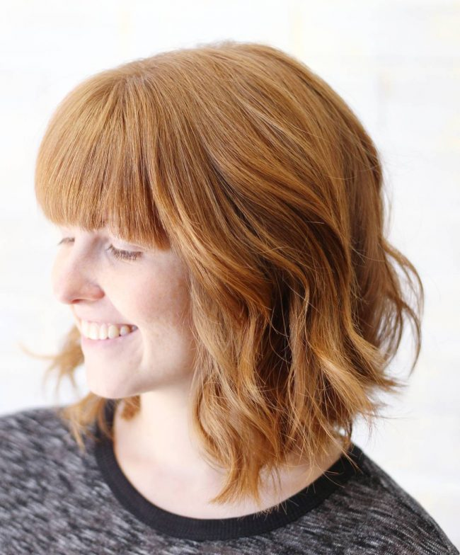 Simple Bob with Straight Fringe