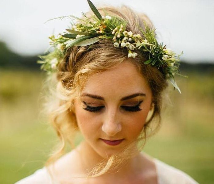 Simple Floral Crown