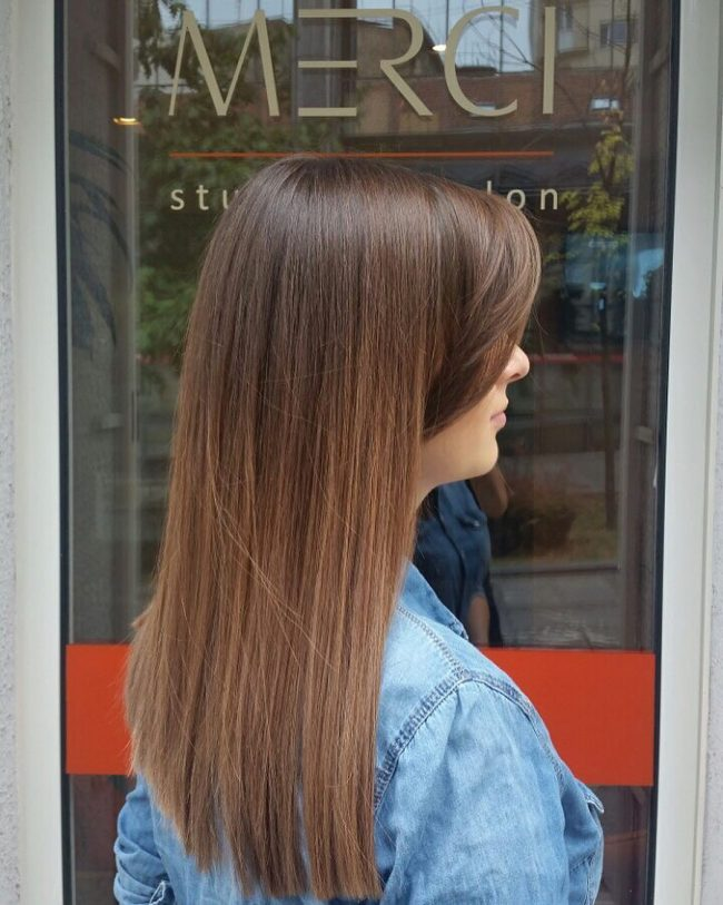 Soft Brown Color Blend