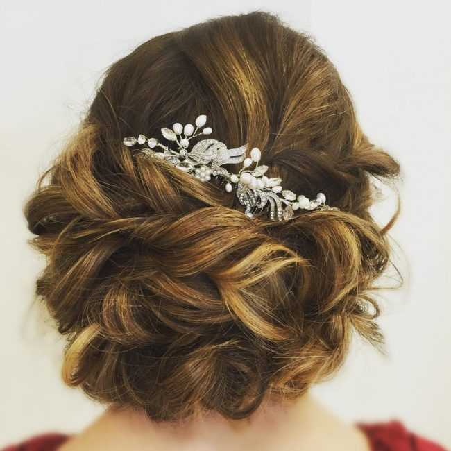 Soft Romantic Bridal Hair