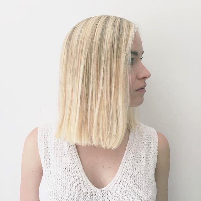 Straight Shoulder-Length Bob