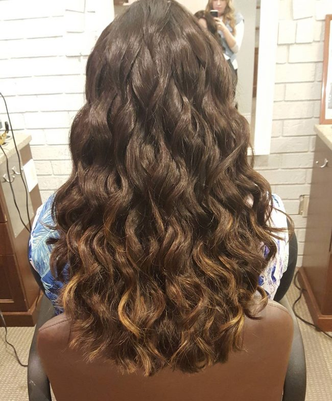 Subtle and Soft Ombre Highlights