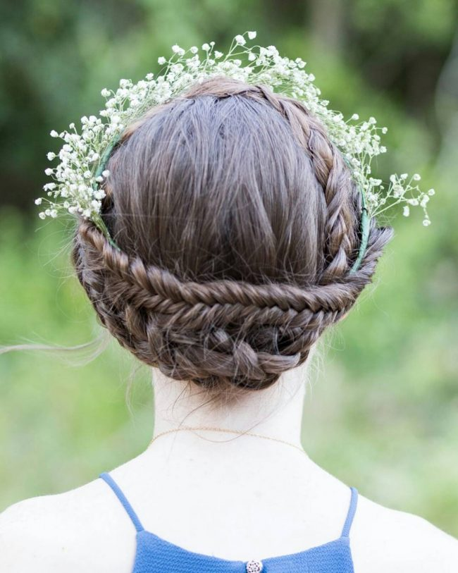 Super Cool Double Braid Crown
