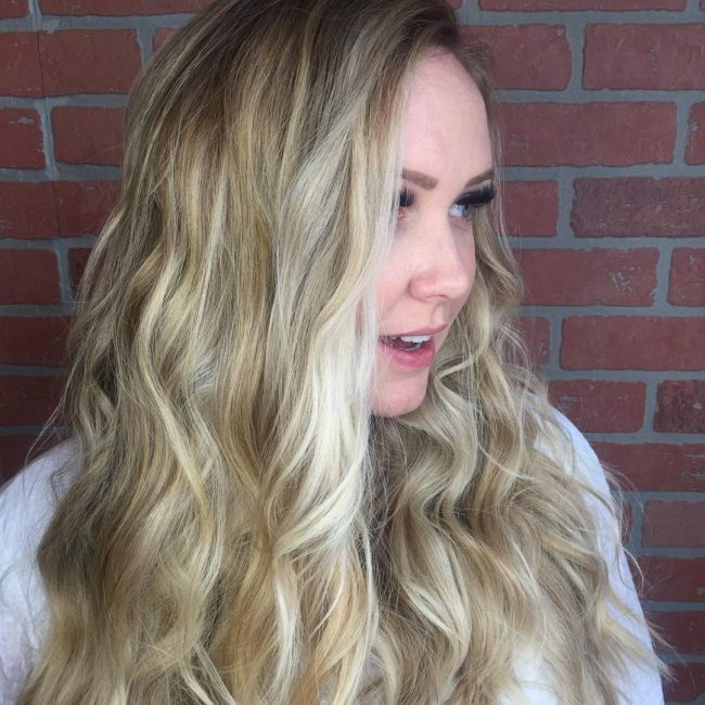 Thick Summer Balayage Locks
