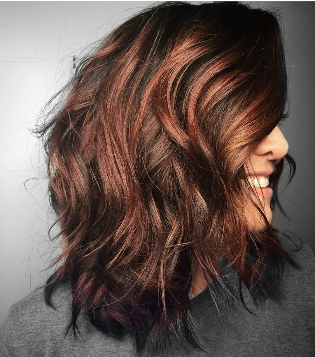 70 Breathtaking Red Highlights Styles — Flames in Your Hair