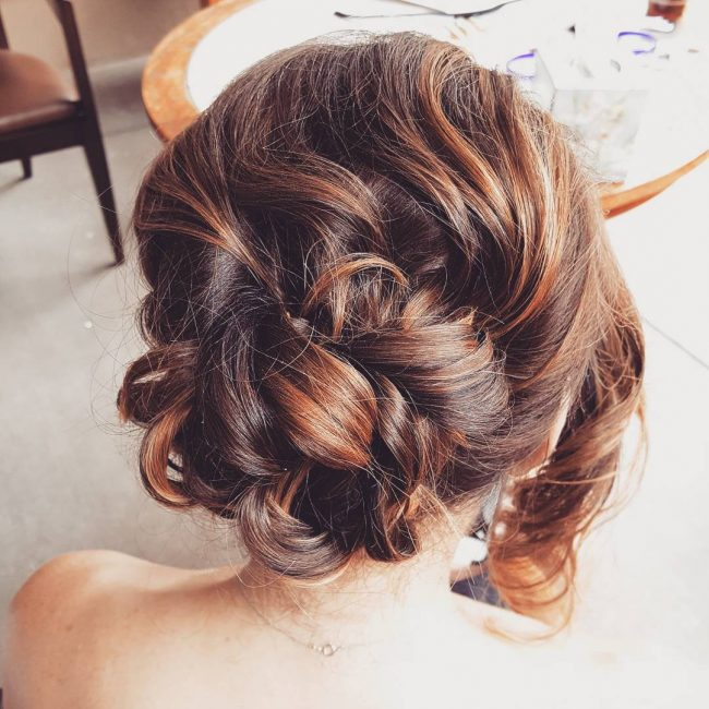 Tucked and Twisted Updo