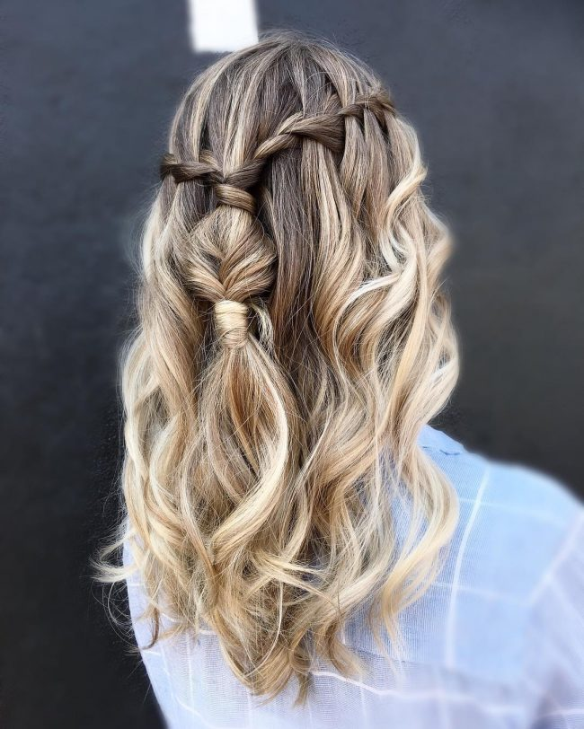 Ultra-Cool Brunette Blonde Balayage