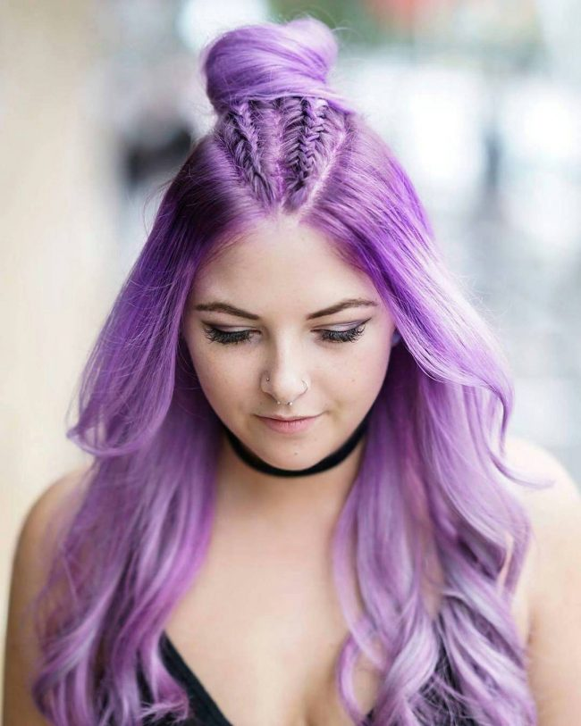 This Range Extends To Metallic Pastel Shades As Well. Weu0027ve Collected  Examples Of The Prettiest Pastel Purple Hair On The Internet For You.
