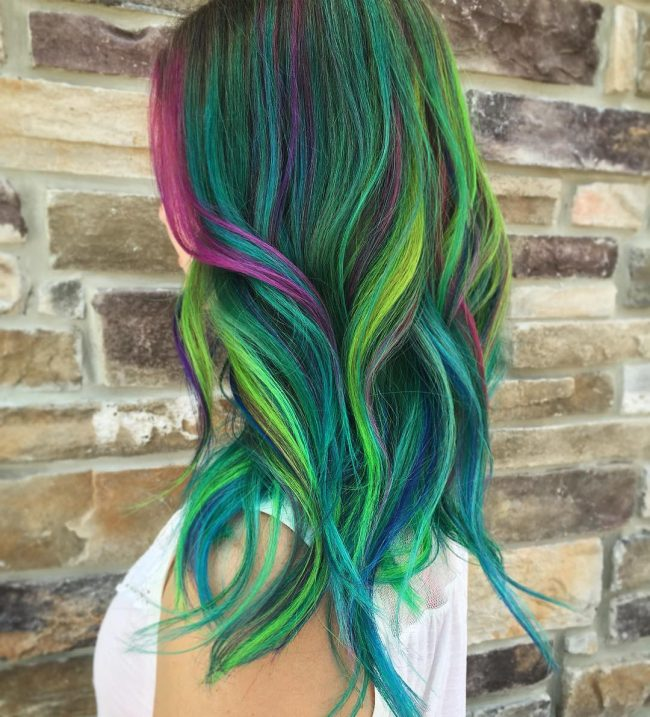 Vivid Mermaid Hair