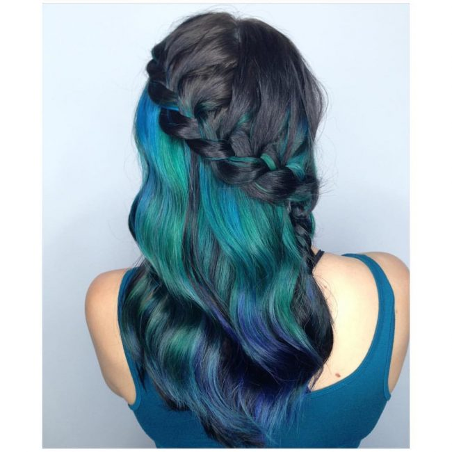 Waterfall Braided Mermaid