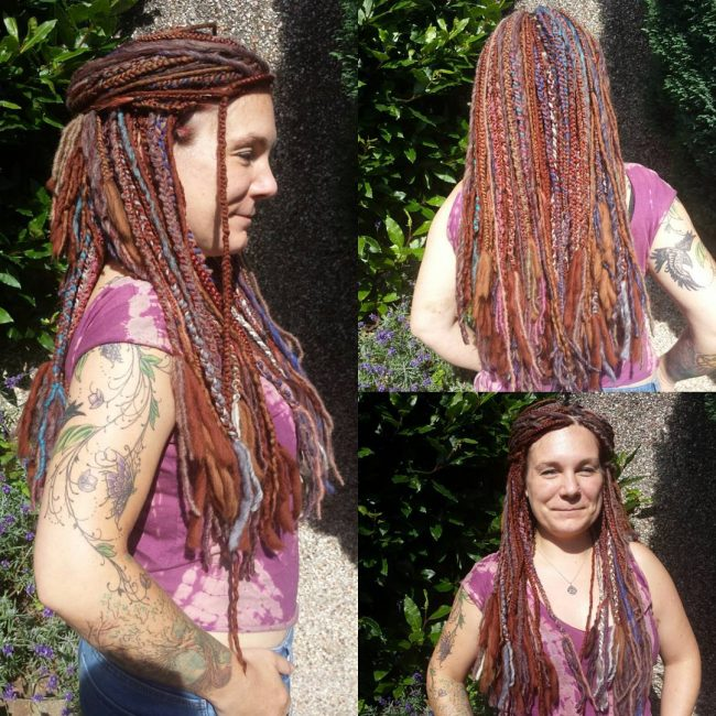 Wool Dreadlocks