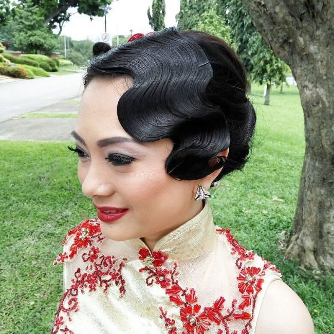 #1 Pre-wedding Finger Waves