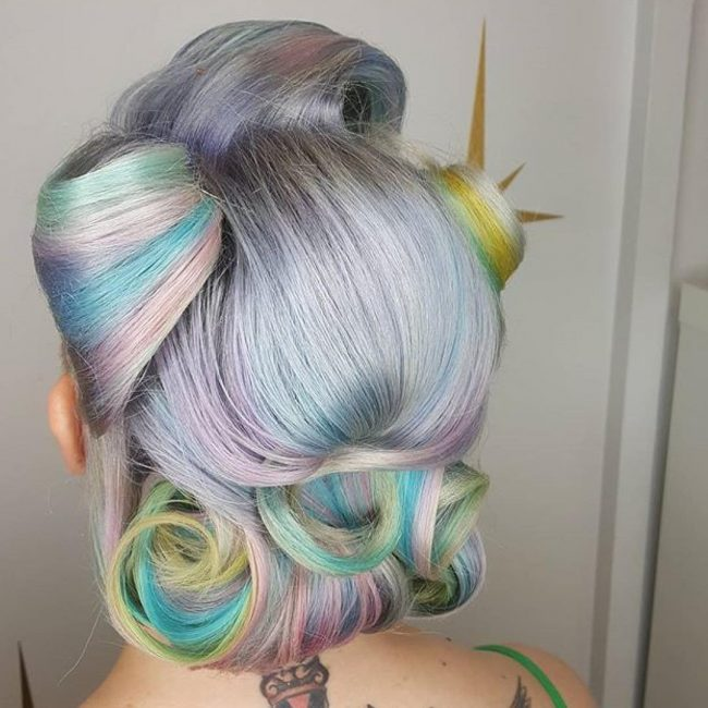 #42 Pastel Mermaid Hair