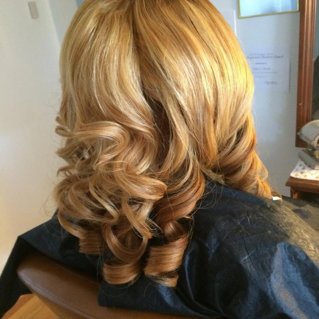 Blowout Balayage Curls