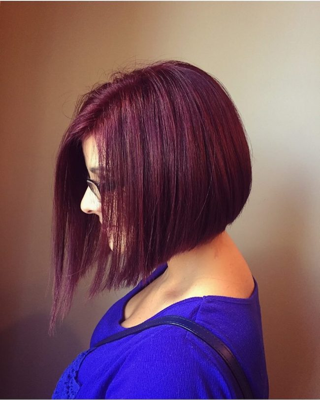 Brilliant Asymmetrical Bob