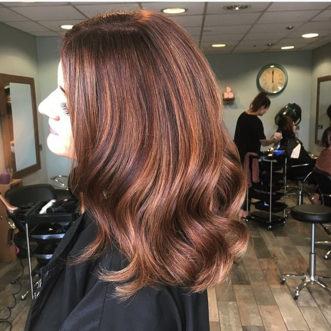 Brown Caramel Highlights