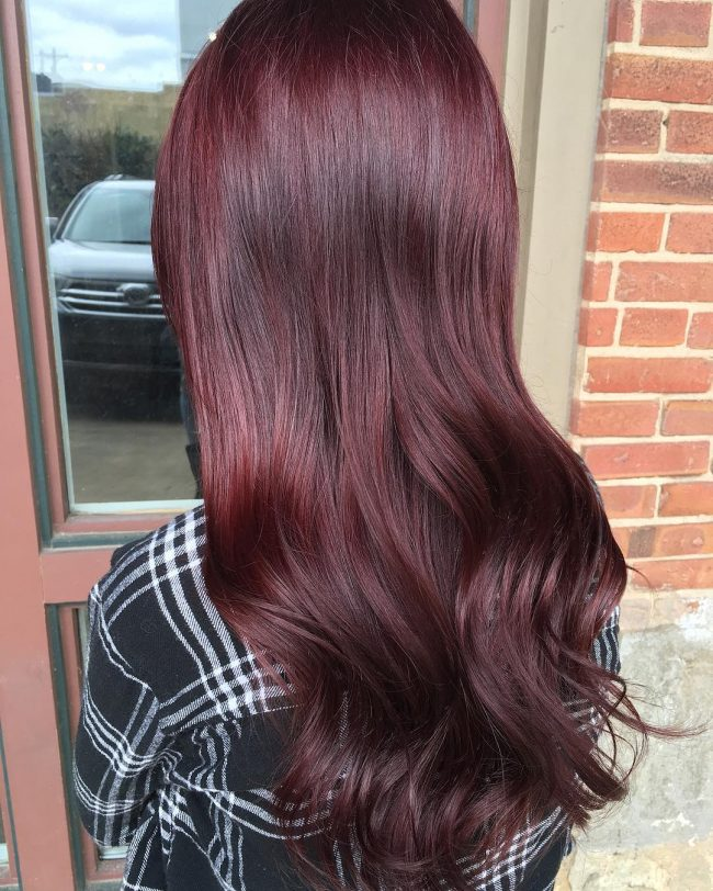Burgundy and Red Violet Melt