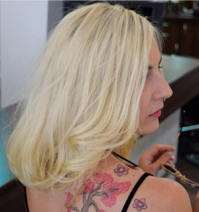 Cheery Butter Blonde Locks