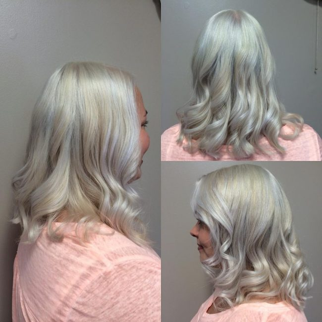 Chic Platinum Blonde
