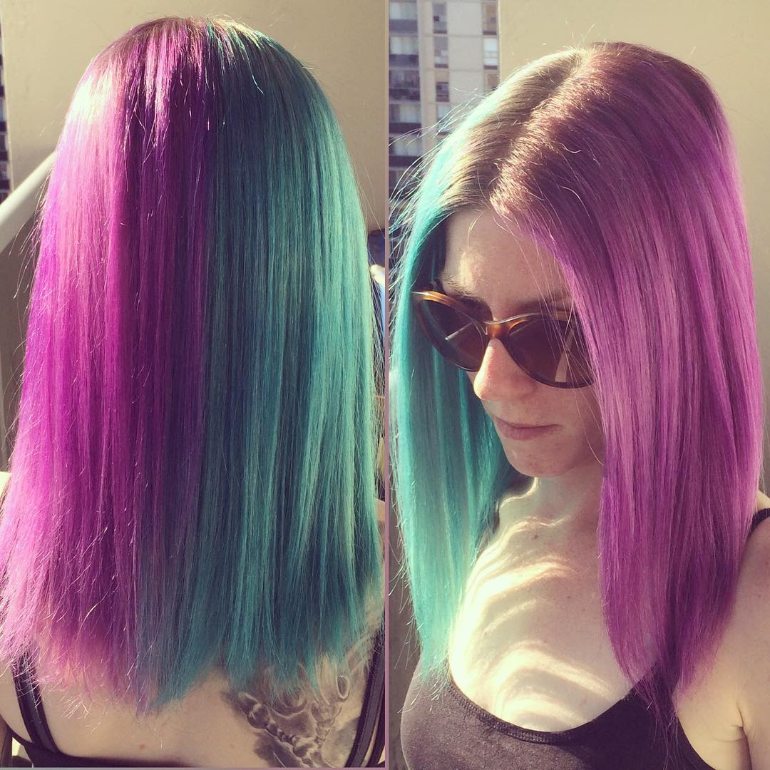 30 Trendy Two Tone Hair Color Ideas Best Combinations