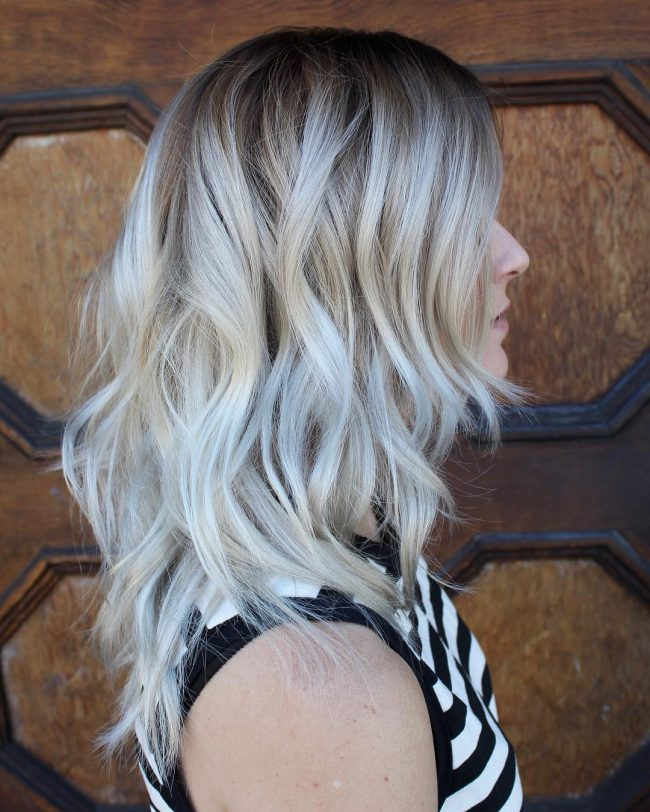 Cool Toned Silver Blonde