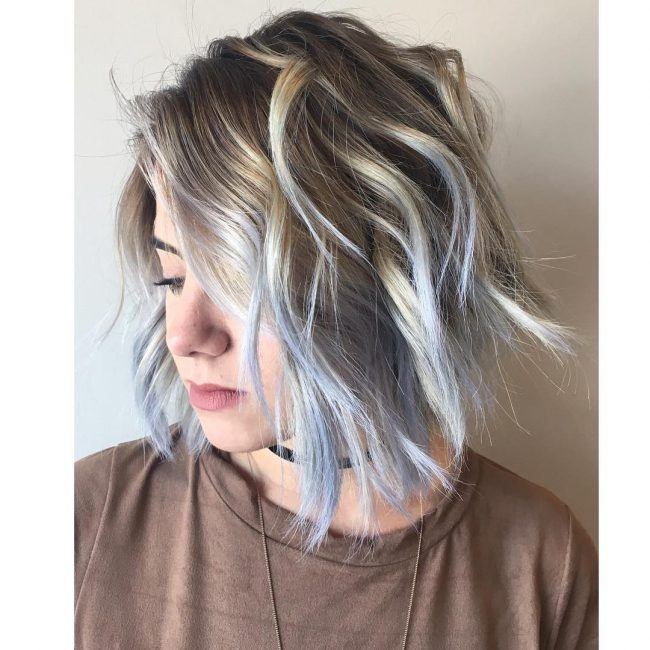 Edgy Pastel Blue