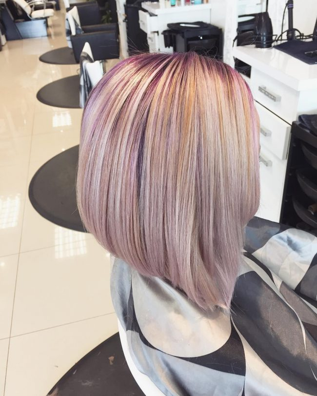 Fabulous Two-Toned Bob