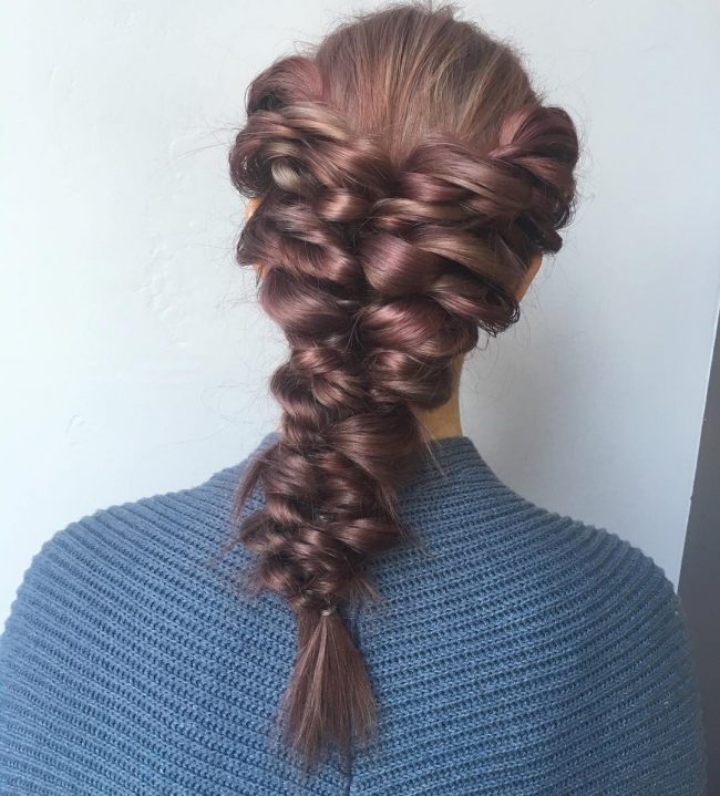 Fall Quinceanera Hairstyle