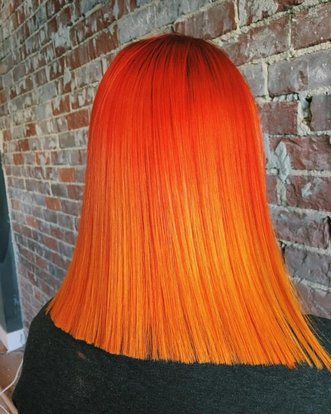 Fiery Pravana Hair Color Melt