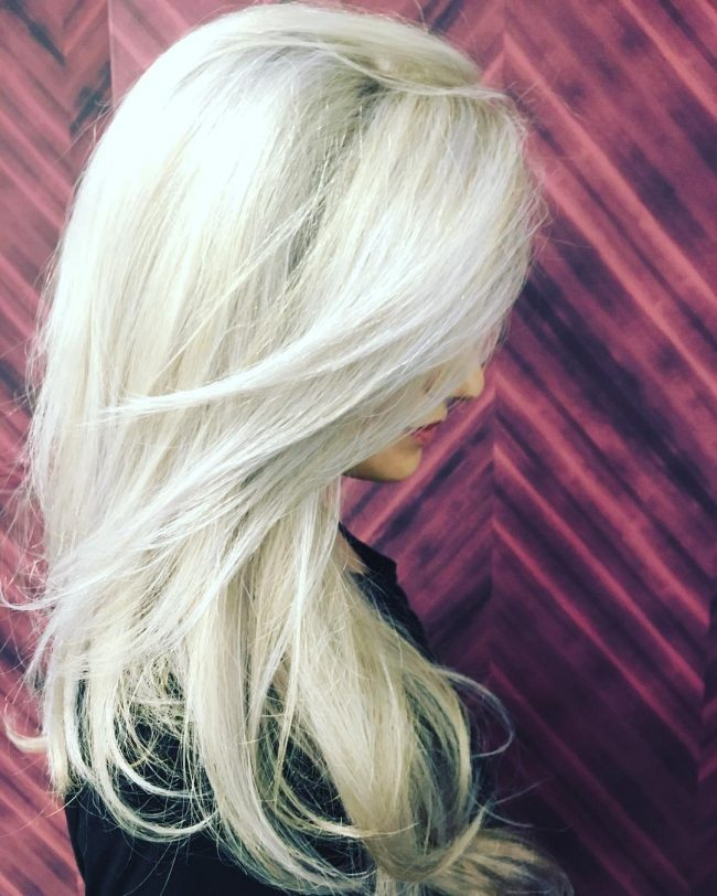 Flawless Icy Blonde Hair