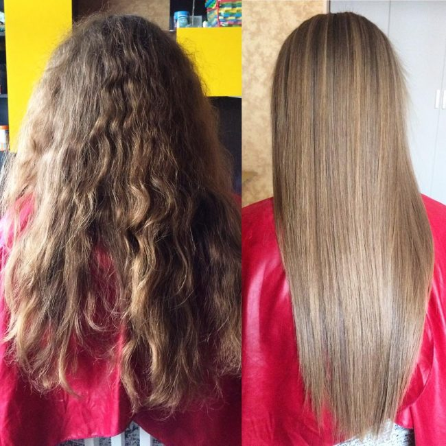 Frizz-Free Long Locks