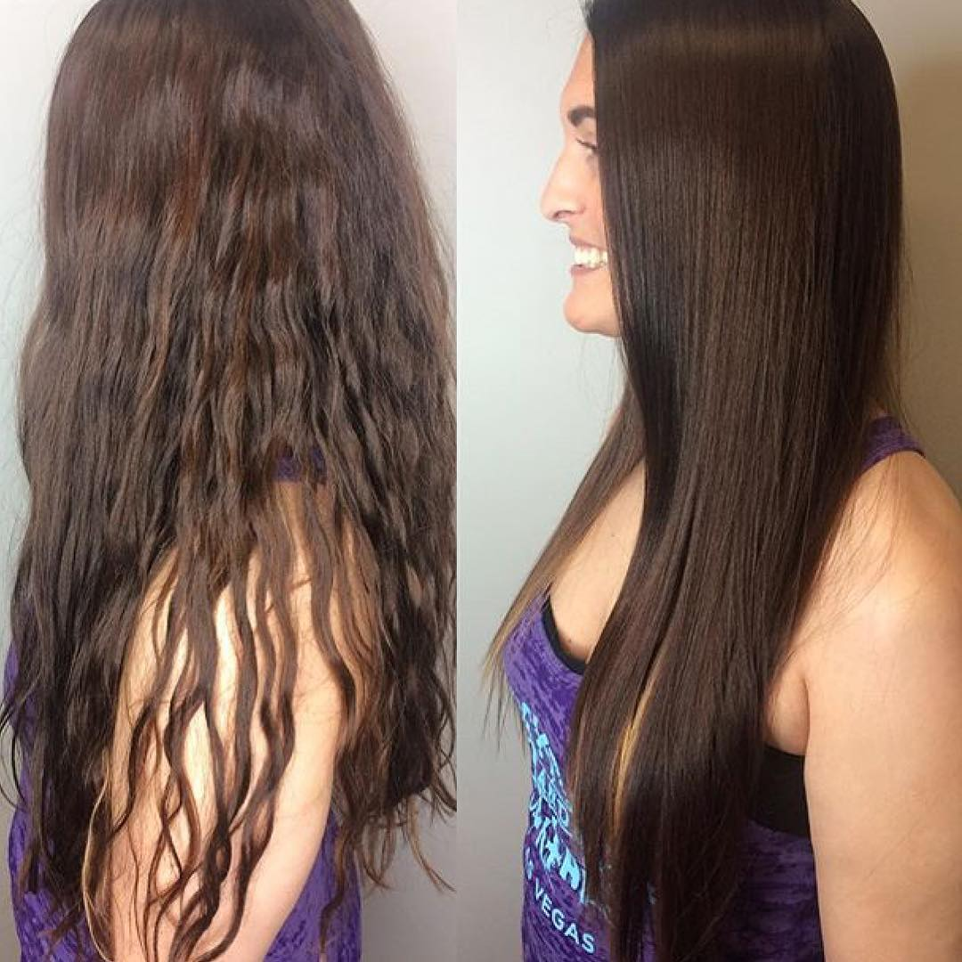 25 Stunning Brazilian Blowout Hairstyles - Unbelievable Before and ...
