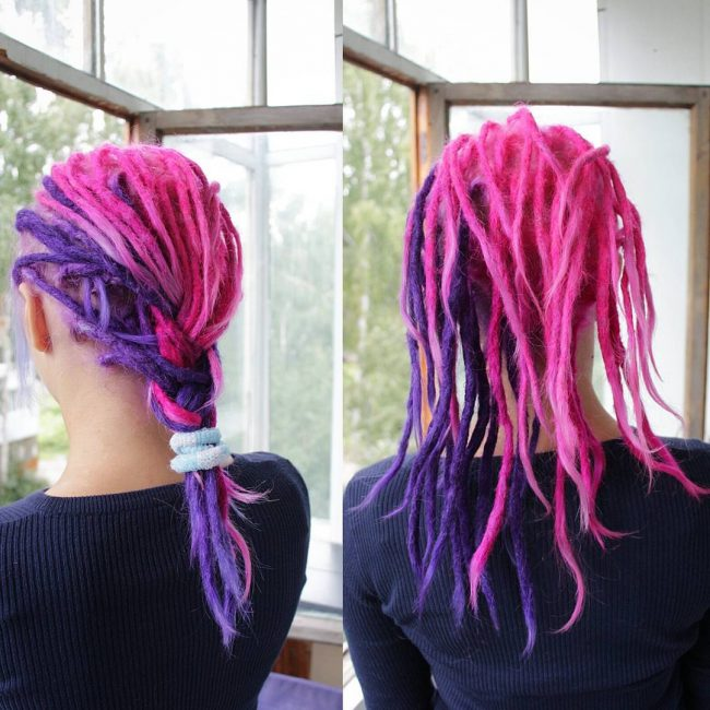 Funky Two-Toned Dreads