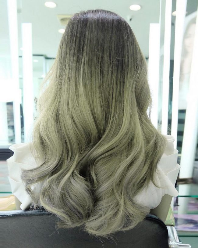 Glorious Ash Platinum Ombre