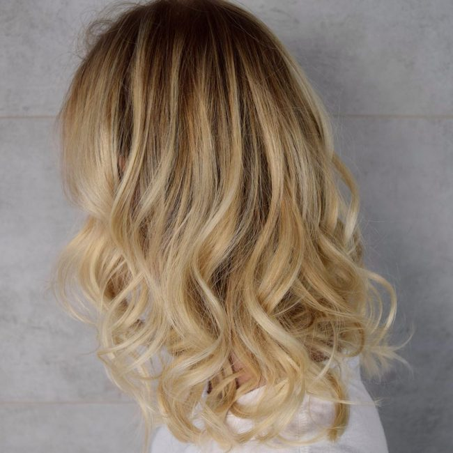 Golden Balayage Blonde