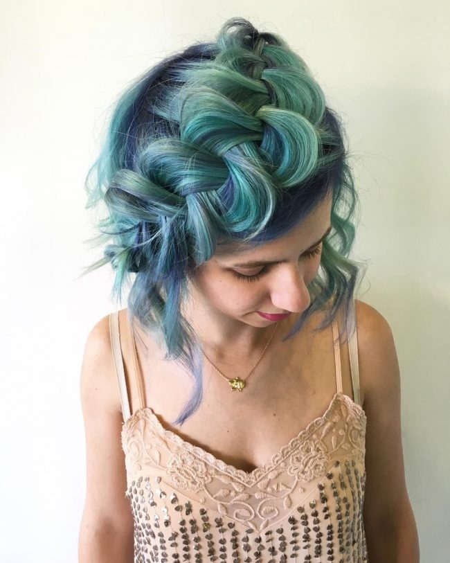 Green Envy Hair