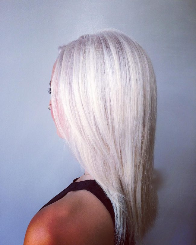 Icy and Brassy Blonde