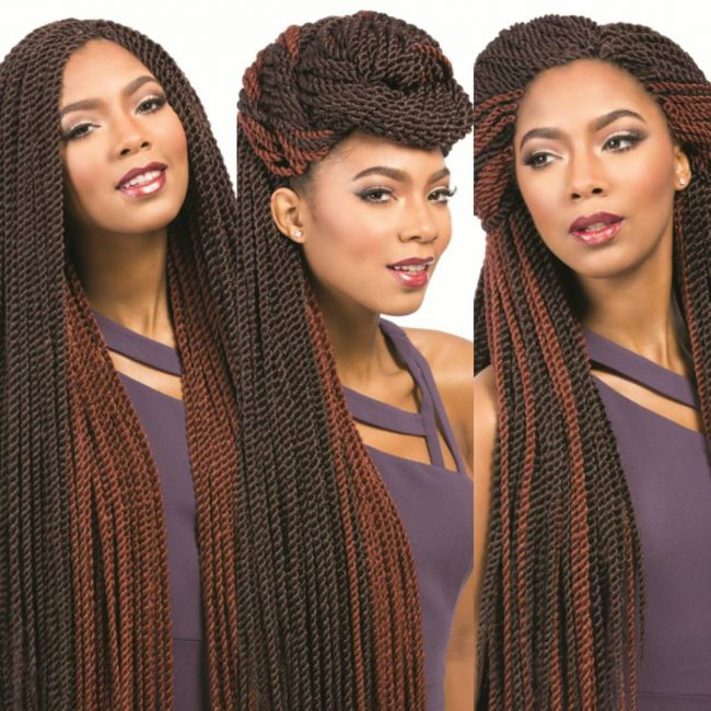 Long Two-Toned Mambo Twists
