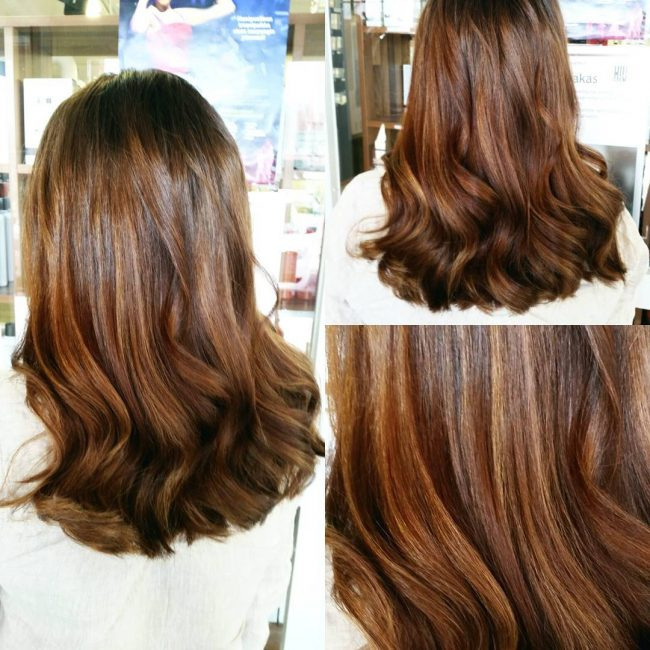 Lovely Golden Brown Balayage