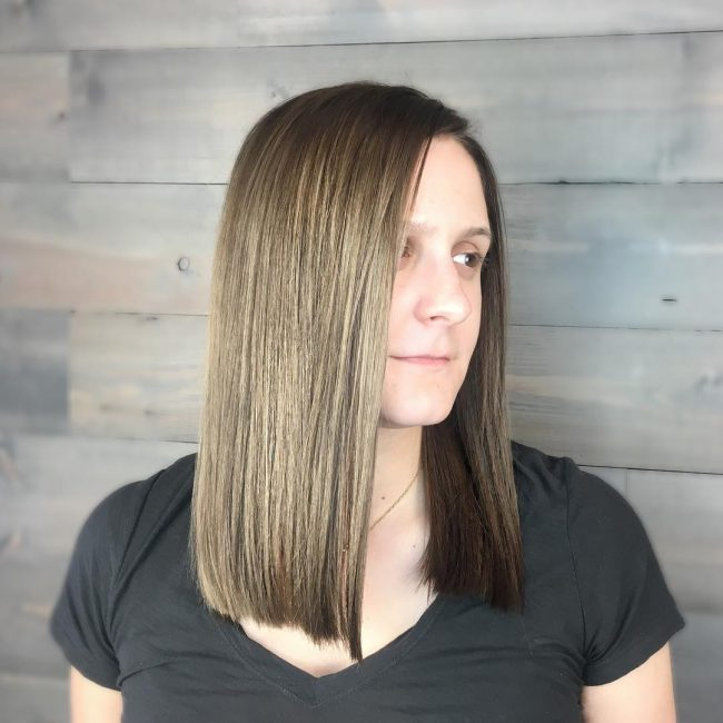 Mirror Smooth Ash Balayage
