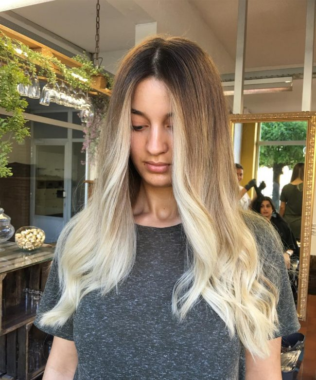 Ombre Gradient Hair