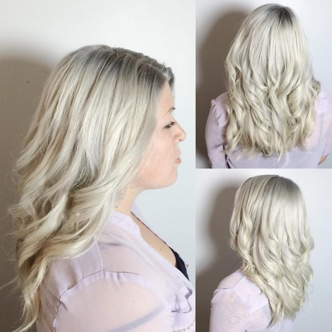Perfect Ash Blonde Ombre