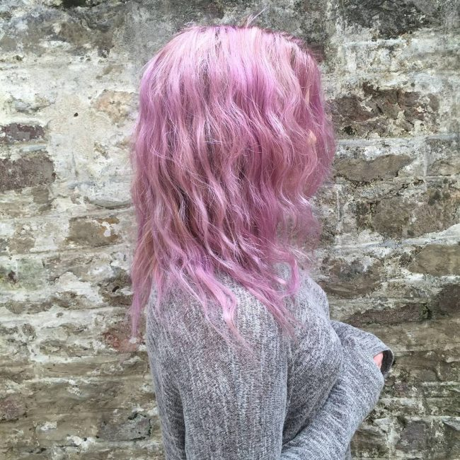 Pinkish Lilac Hair