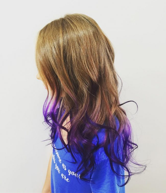 Pint Size Purple Ombre