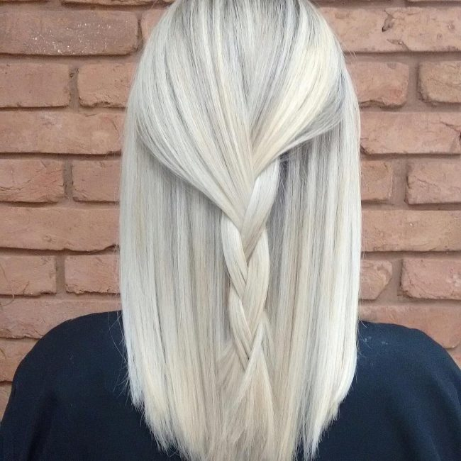 30 elegant white blonde hair ideas � perfect snowy shades