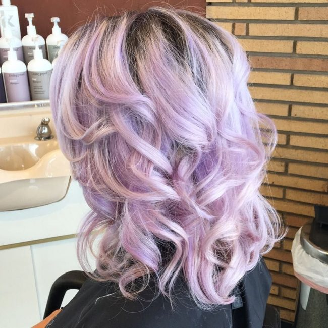 Pretty and Curly Mermaid Locks